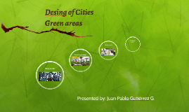 Desing of Cities