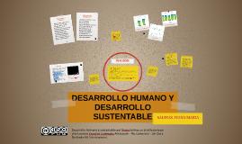 DESARROLLO HUMANO Y DESARROLLO SUSTENTABLE