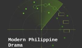 Modern Philippine Drama