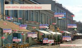 PATAISYTAS. 1978-1987m. dešimtmetis Kaune
