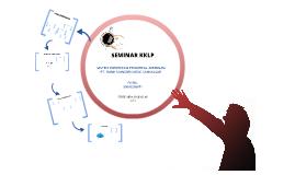 Seminar KKLP Faisal 20092205071