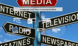 Language and Mass Communication