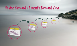 Moving forward : 2 month Forward View