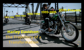 Copy of Harley davidson: Trajectory of a Transformation