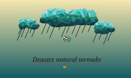 Deastre natural tornado