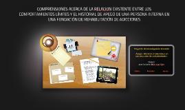 COMPRENSIONES ACERCA DE LA RELACION EXISTENTE ENTRE LOS