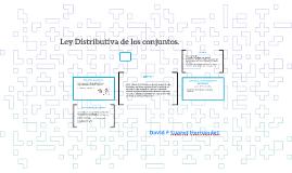 Ley Distributiva de los cojuntos.