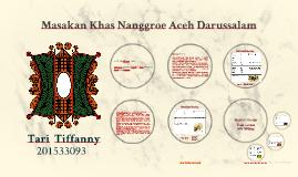 Masakan Khas Nanggroe Aceh Darussalam
