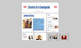 Copy of Literatura de la Emancipacion