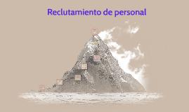 Reclutamiento de personal