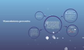 Copy of Copy of Mantenimiento preventivo