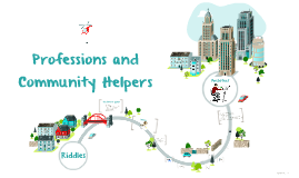 Professions and Community Helpers