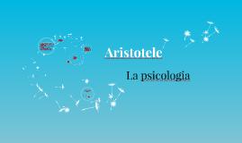 Aristotele: la psicologia