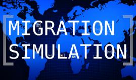 Copy of Migration Simulation