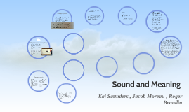 Sound and Meaning