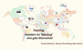 Fracking: Chance oder Risiko?