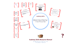 Auditory Skills Resource Manual