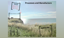 Processes and Manufacture