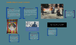 Leadership in Local Contexts