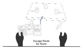Tyson  Escape Route