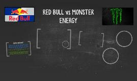 RED BULL vs MONSTER ENERGY