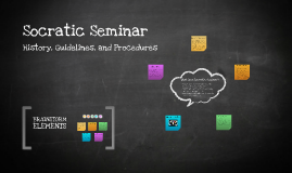Copy of Socratic Seminar