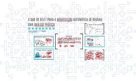 O USO DO REVIT PARA A VERIFICAÇÃO AUTOMÁTICA DE REGRAS: UMA