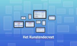 Copy of Presentatie coachingsdag Kunstendecreet