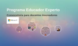 Convocatoria para docentes innovadores