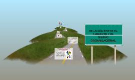 Copy of RELACIÓN ENTRE EL AMBIENTE Y EL DISEÑO ORGANIZACIONAL
