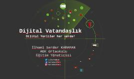 Copy of AGK - Dijital Vatandaşlık