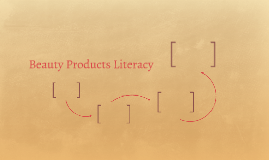 Beauty Products Literacy