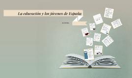 La educación y los jovenes de España