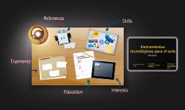 Herramientas tecnológicas para el aula