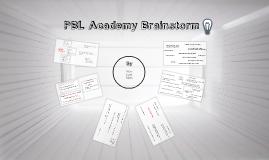 PBL Brainstorm