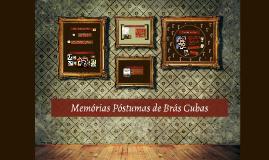 Copy of Memórias Póstumas de Brás Cubas