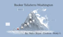 Copy of Booker T. Washington