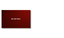 Asking Alice