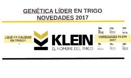 Presentación Klein - Córdoba 2017