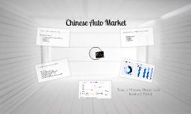 China's Automotive Market