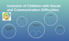 Inclusion of Children with Social and Communication Difficul