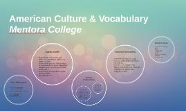 American Culture & Vocabulary