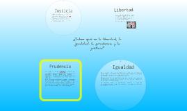 Copy of Copy of Reconoce a la libertad, la igualdad, la prudencia y la justicia como necesidades sociales