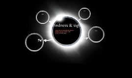 blindness & sight