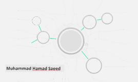 Muhammad Hamad Saeed