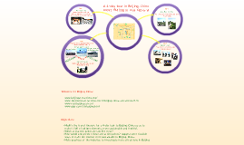 Extended learning activity - How would you plan a 4-day trip to Beijing, China?