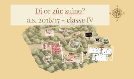 I zûcs dai fruts - a.s. 2016/17 classe IV