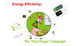 Flick Finger Campaign