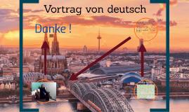 Vortrag von deutsch