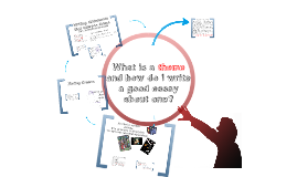 What is a theme and how do I write a good essay about one?